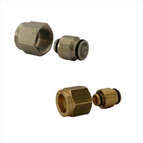 Luxusheat Compression Connector Adaptors in 16mm to 25mm