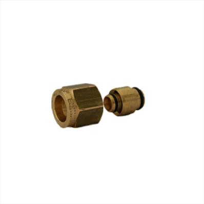 Compression Adaptor - 20 x 22mm Brass