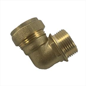 Luxusheat Brass Elbow Compression Fitting for Compact Control Set