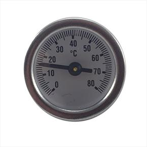 Luxusheat Temperature Gauge with O Ring for Compact Control Set