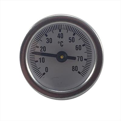 Temperature Gauge with O Ring for Compact Control Set