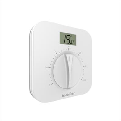 Heatmiser Manual Dial Thermostat with LCD (240v)