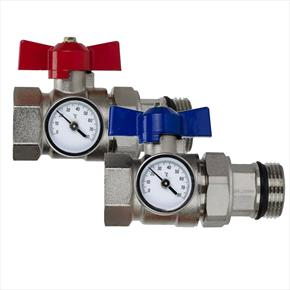 Manifold Main Isolation Valve (Inc Temp Gauges)