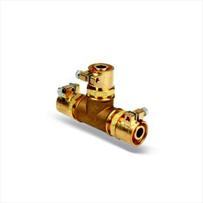 Luxusheat Microflex Tee Connector for PN10 Sanitary Pipe